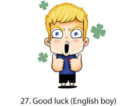#28 for Line stickers for a language school by adalbertoperez
