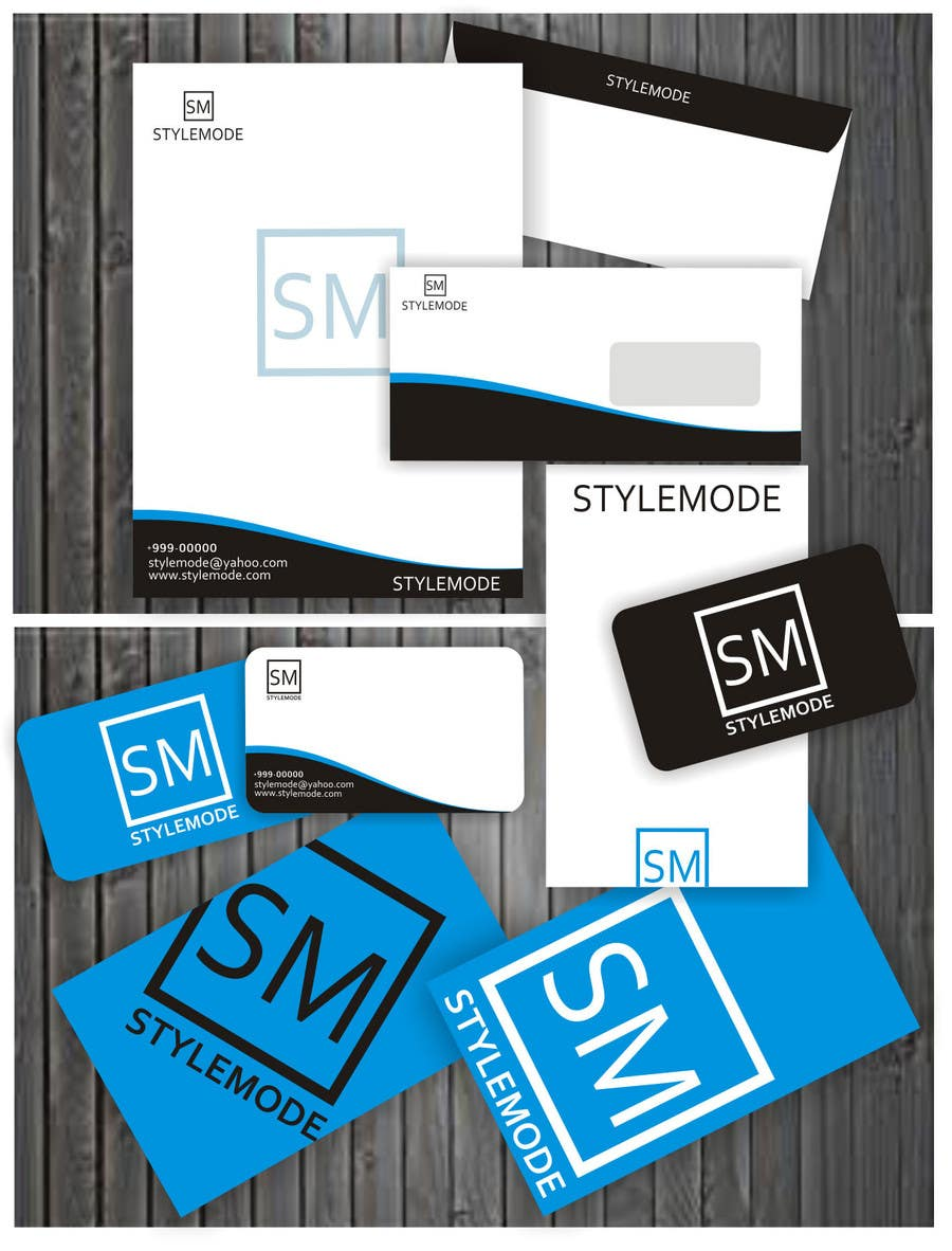 #14 for Stationery Design for STYLEMODE, a online clothing and accessories retailer by ezra66