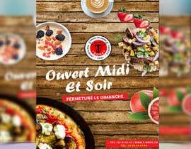 Nro 4 kilpailuun Concevez un flyer de restaurant käyttäjältä prabhjotsajjan