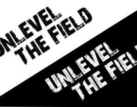 #445 para UNLEVEL THE FIELD - Re-Do Graphic for Sports Company por BrunoLobo