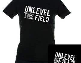 #177 para UNLEVEL THE FIELD - Re-Do Graphic for Sports Company por kiki13sora