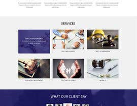 #7 for I need a website designed.  This is for a start up law firm  The site must be - warm and welcoming - functional  - user friendly - professional looking - minimalist/clean (as far as possible) by sherazi2592