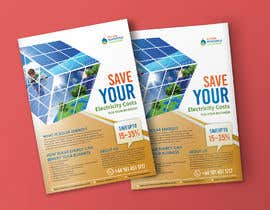 #52 for Design a Flyer for Renewable energy comapny by prabhjotsajjan