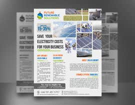 #50 for Design a Flyer for Renewable energy comapny by mdreyad1656