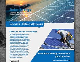 #41 for Design a Flyer for Renewable energy comapny by colorgraph