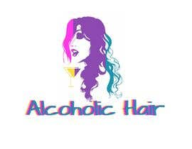 #55 for Design a Logo for Alcoholic Hair by janainabarroso