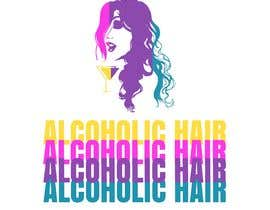 #56 for Design a Logo for Alcoholic Hair by janainabarroso