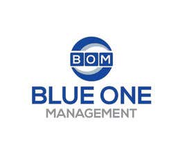 #11 para Need a logo deisgned for a management company called Blue One Management, colours sky blue and white writing por misssirin739