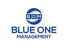 #12 para Need a logo deisgned for a management company called Blue One Management, colours sky blue and white writing por misssirin739