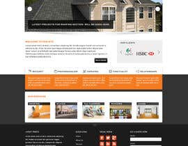 #2 untuk Wordpress Theme Design for Specialized Roofing & Contracting Inc. oleh Pavithranmm