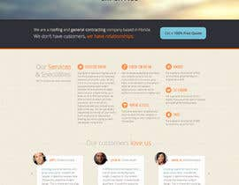#8 untuk Wordpress Theme Design for Specialized Roofing & Contracting Inc. oleh andrewnickell