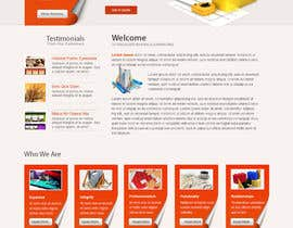 #20 untuk Wordpress Theme Design for Specialized Roofing & Contracting Inc. oleh hibernicus