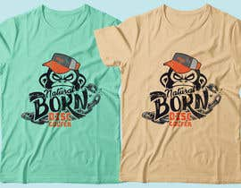 #21 for T-shirt / logo design by RibonEliass