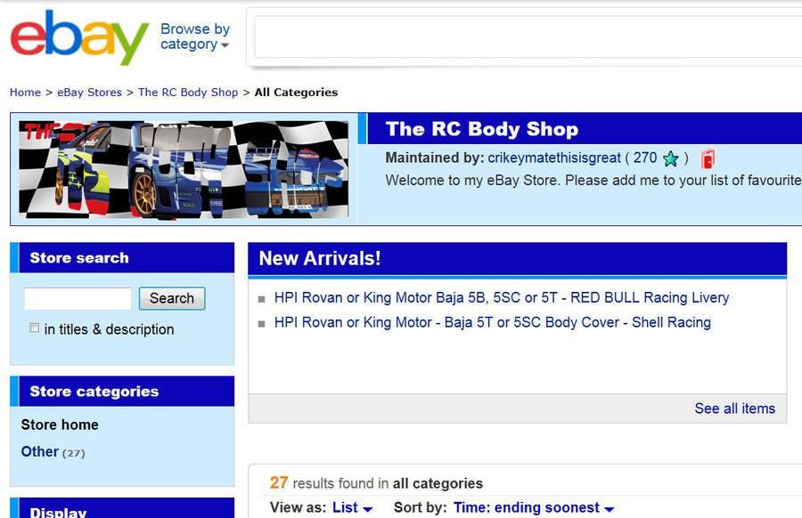 Proposition n°                                        47                                      du concours                                         Logo Design for The RC Body Shop - eBay