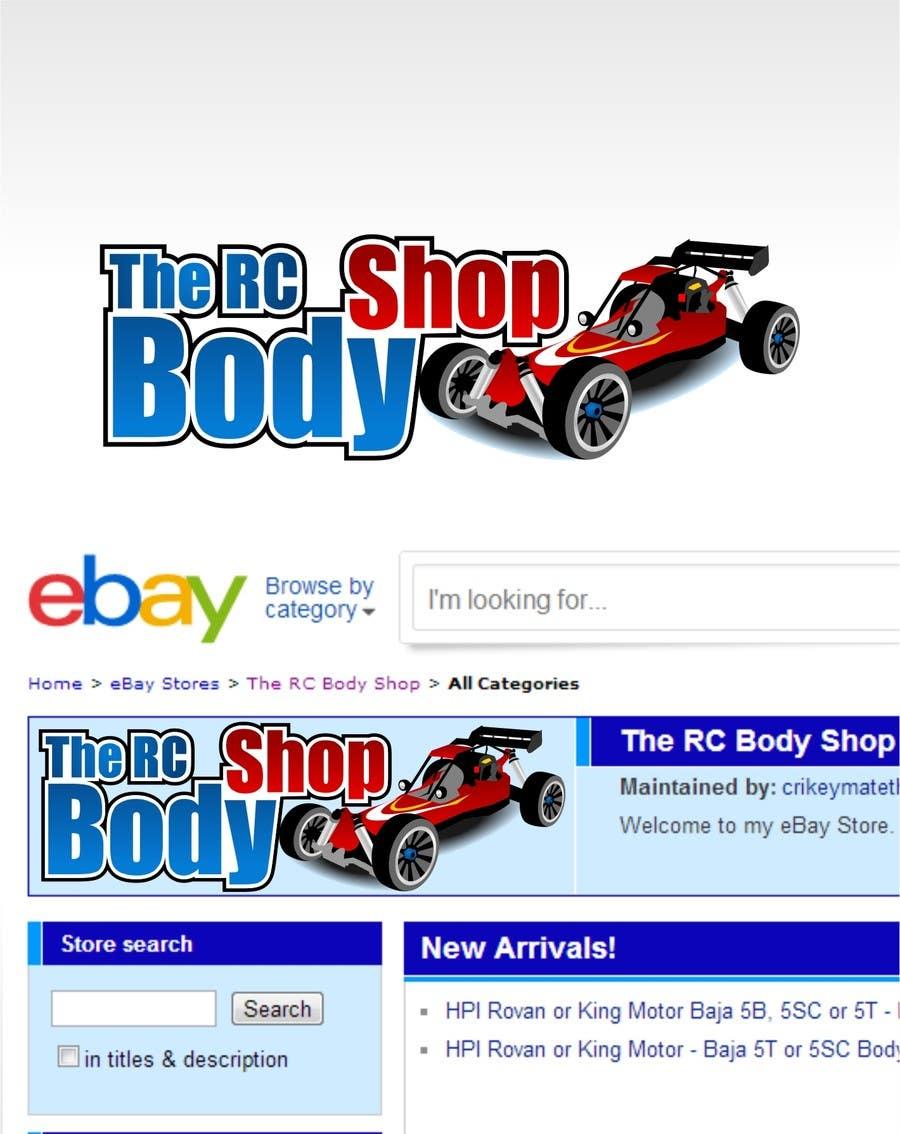 Proposition n°                                        34                                      du concours                                         Logo Design for The RC Body Shop - eBay
