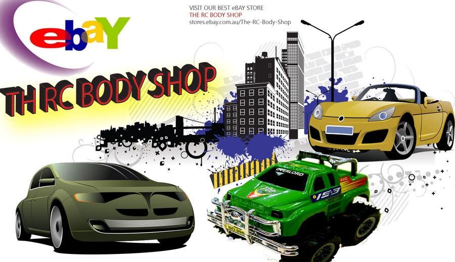 Bài tham dự cuộc thi #                                        72                                      cho                                         Logo Design for The RC Body Shop - eBay