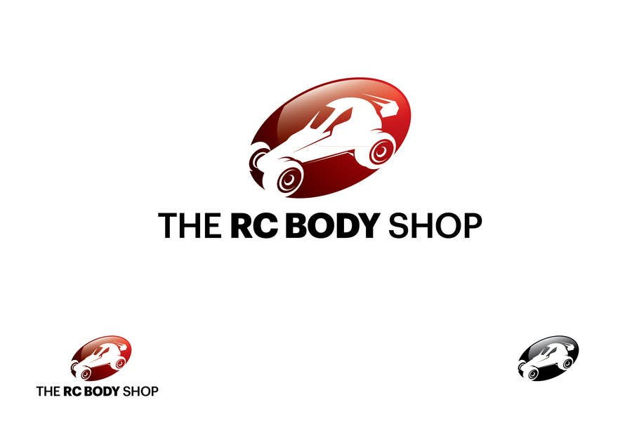 Bài tham dự cuộc thi #                                        11                                      cho                                         Logo Design for The RC Body Shop - eBay