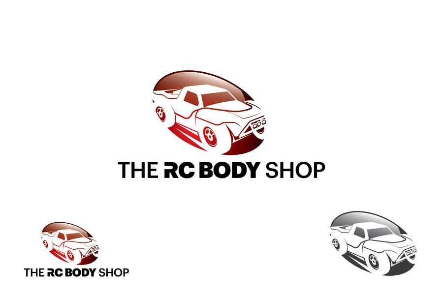 Bài tham dự cuộc thi #                                        57                                      cho                                         Logo Design for The RC Body Shop - eBay