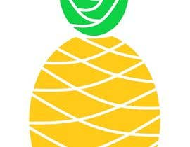 #15 for I need you to make a simple design of a pineapple. It doesnt really need to much detail. Just have a yellow pineapple with a green top (leaves). by martyydeligero