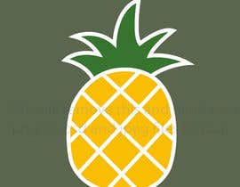#11 for I need you to make a simple design of a pineapple. It doesnt really need to much detail. Just have a yellow pineapple with a green top (leaves). by hafsashahw