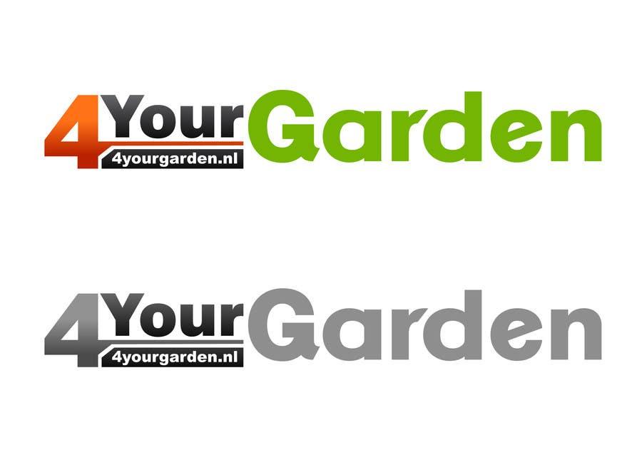 Penyertaan Peraduan #296 untuk Logo Design for 4yourgarden.nl