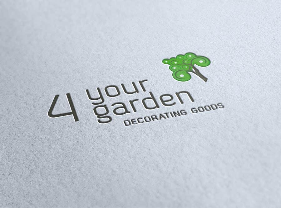 Penyertaan Peraduan #334 untuk Logo Design for 4yourgarden.nl