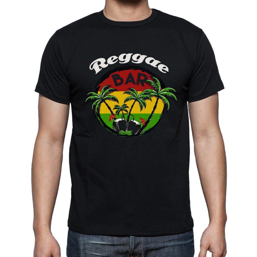 Design t shirt reggae - Contest Entry 20 For Design A T Shirt For Reggae Bar