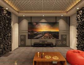 #6 for Home theater interior design af Antonaq