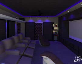 #7 for Home theater interior design af ssquaredesign