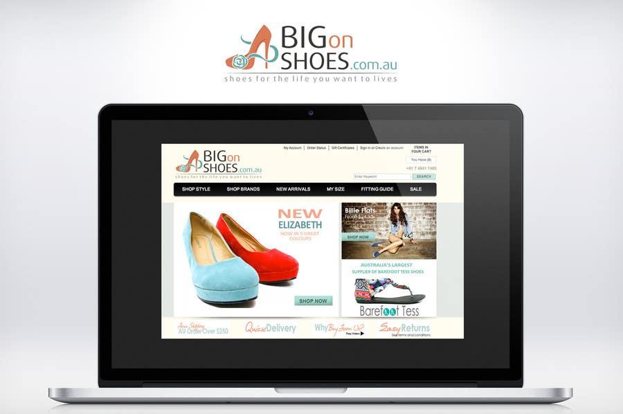 Inscrição nº 255 do Concurso para Logo Design for Big On Shoes
