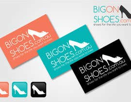 nº 381 pour Logo Design for Big On Shoes par akshaydesai