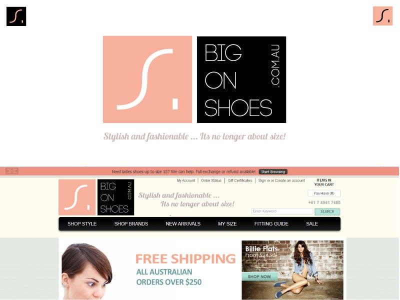 Inscrição nº 151 do Concurso para Logo Design for Big On Shoes