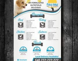 #100 for Design a One-Page Menu Flyer for PET Food af jovanastoj
