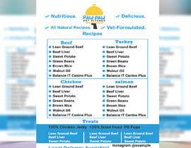 #83 for Design a One-Page Menu Flyer for PET Food af ranamdshohel393