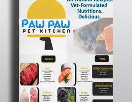 #101 for Design a One-Page Menu Flyer for PET Food af Ummemazumder