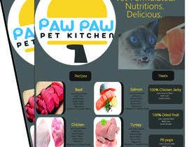 #102 for Design a One-Page Menu Flyer for PET Food af Ummemazumder