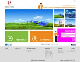 #91 untuk Website Design for Vibrant Energy Solutions oleh jeransl