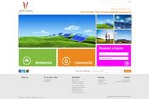 Graphic Design Konkurrenceindlæg #122 for Website Design for Vibrant Energy Solutions