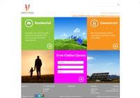 Graphic Design Konkurrenceindlæg #107 for Website Design for Vibrant Energy Solutions