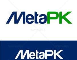 Nro 170 kilpailuun Design a Logo for MetaPK käyttäjältä hammad143