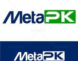 Nro 172 kilpailuun Design a Logo for MetaPK käyttäjältä hammad143