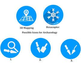 #17 for Drone Applications - ICON DESIGN x 12 af zzzabc