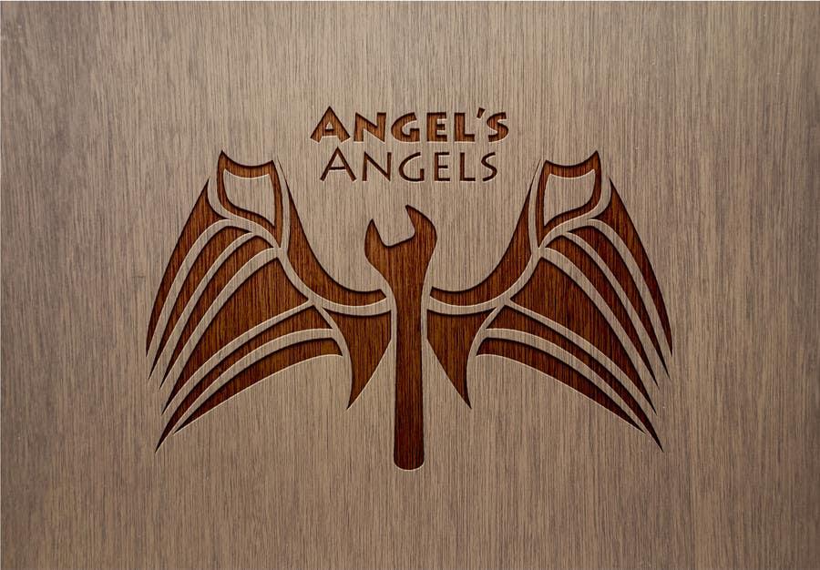 """Inscrição nº                                         8                                      do Concurso para                                         Design a Logo for my handyman business called """"Angel's Angels"""""""