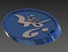 #13 for Quick 2D to 3D Printing Design of Key Chain by dedierwanto2686
