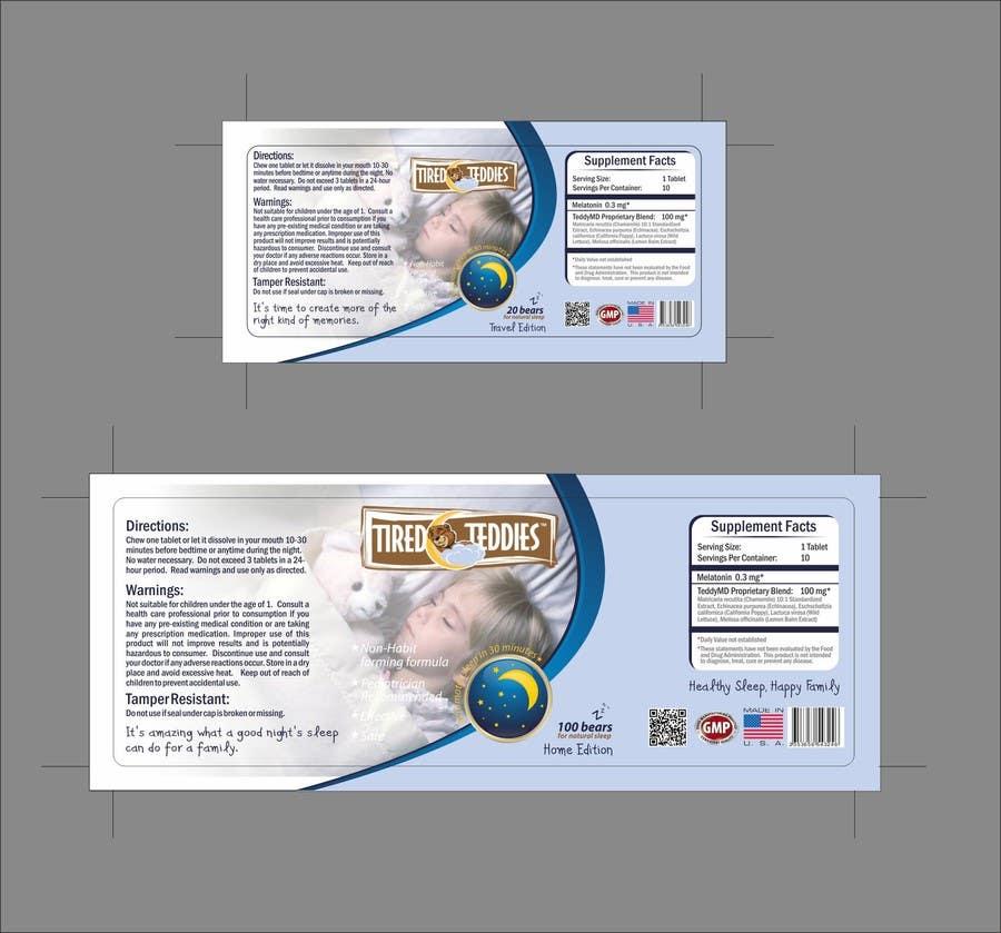 Конкурсная заявка №41 для Print & Packaging Design for Teddy MD, LLC