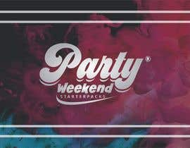 #140 for Party Weekend Logo af meenapatwal
