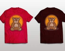 #22 untuk Create a Teddy Bear Logo for a shirt oleh Pelirock
