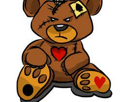 #27 untuk Create a Teddy Bear Logo for a shirt oleh ToaMota