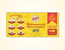 #33 for Create a catchy restaurant banner for students by shihab140395