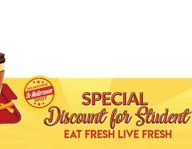 #53 for Create a catchy restaurant banner for students by sahadathossain81